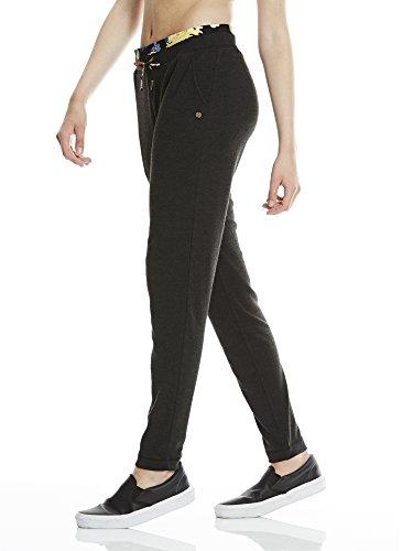 Bench Hareem Pant Pantalon de Jogging noir marbré