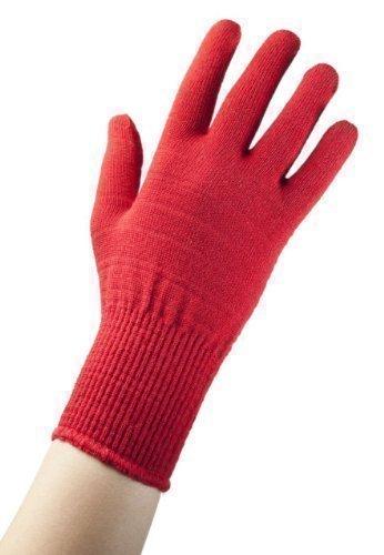 EDZ Merino Wolle Thermo Liner Handschuhe-Rot-XL