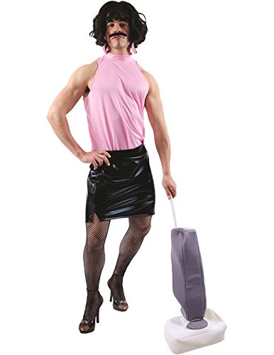 Adult Mens Rock Star Housewife Costume
