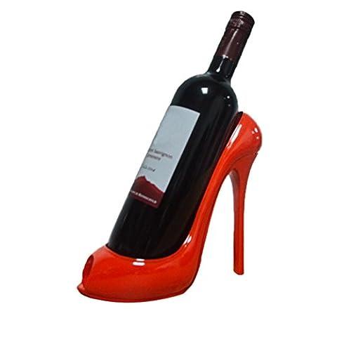 Casier à Vin, Malloom Vin Stockage Chaussure à talon haut Stockage du bouteille Mariage Ornement de décoration Cadeau