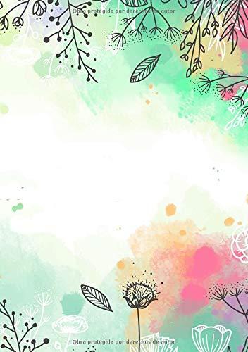 Libretas de Puntos: Cuadernos con Puntos, Cuaderno A5 Puntos, Cuaderno Dot, Cuaderno Dot Grid - Libreta Acuarela #23 - Tamaño: A5 (14.8 x 21 cm) - 110 ... ofertas hoy,libreta pequeña,libretas bonitas) por Prime Publishing