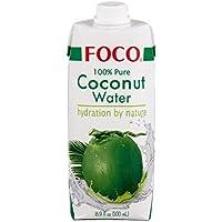 FOCO Bebida Agua de Coco 100% Natural 500ml