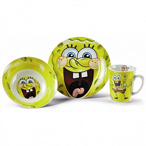 SpongeBob Frühstücksset 3-teilig