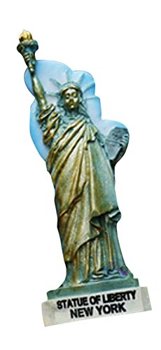 AccessCube US-amerikanische 3d Kunstharz mit Kühlschrank Magnet mit, Statue of Liberty/Ny New York