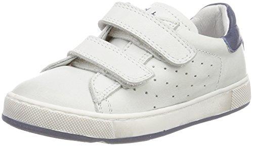 Naturino Jungen 5260 VL Sneaker, Elfenbein (Bianco-Navy), 29 EU