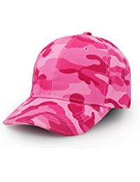 84626b7c289 Amazon.co.uk  Pink - Baseball Caps   Hats   Caps  Clothing