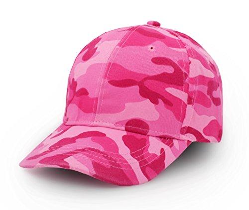 UltraKey Baseballkappen, Militär-Camouflage-Kappen, Schirmmützen, Können für Outdoor-Aktivitäten Wie Angeln, Camping und Jagd Verwendet Werden Rosa