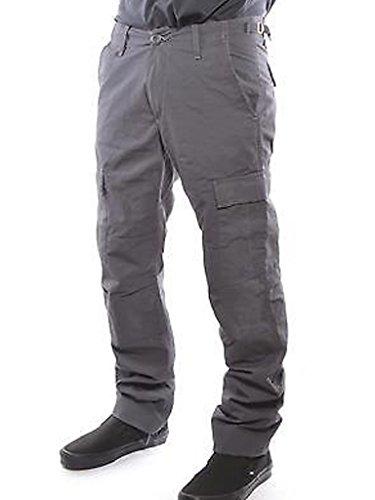 Carhartt Aviation Pant, Pantalon Homme BLACK SMITH RINSED