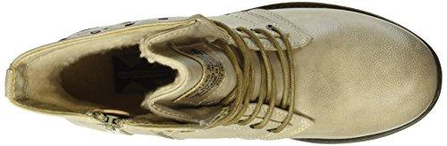 Mustang Damen 1139-610-243 Biker Boots Elfenbein (243 ivory)