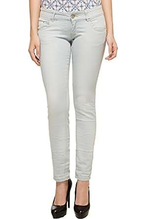 KOTTY Women's Denim Jeans Light Blue