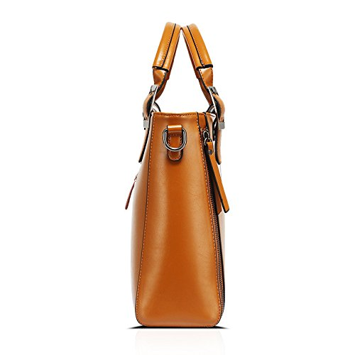 Mefly Cera Di Olio Nuovo Borsetta Tracolla Messenger Bag E Borsetta Blu brown