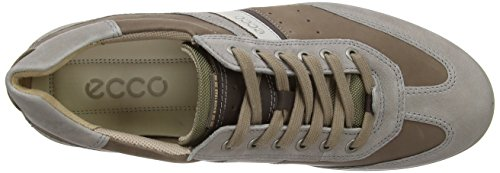 Ecco Chander, Chaussons Sneaker Homme Marron (Stone/Brown/Mocha/Gravel)