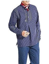 Herren Fischerhemd modAs im Finkenwerder Stil Gr. 52