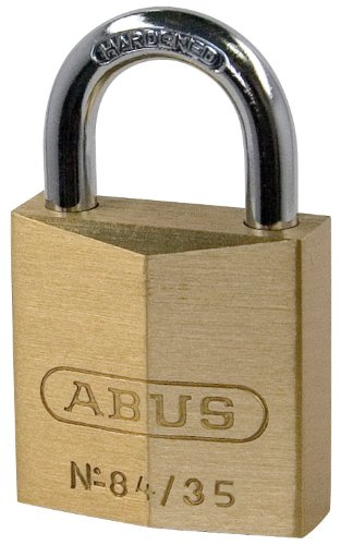 ABUS 05070Vorhängeschloss mit Schlüssel 40mm gold -