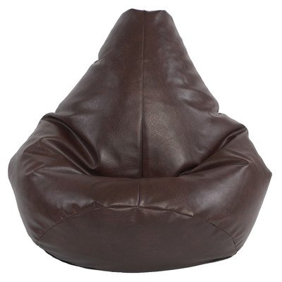 x-l-highback-gaming-beanbag-faux-leather-brown-bean-bag-chair