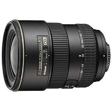 Nikon AF-S DX Zoom-Nikkor 17-55mm 1:2,8G IF-ED Objektiv (77mm Filtergewinde)
