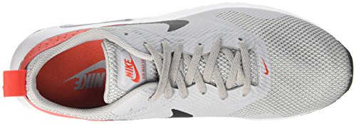 Nike Herren Air Max Tavas Laufschuhe, Schwarz (Black/White), 40 EU Grau (Wolf Grey/Black-Max Orange)
