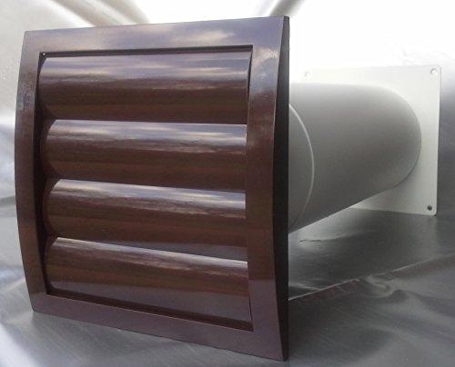 Mauerkasten NW 150 Dunstabzug Teleskop Rohr Lamellen Verschlussklappe MKWSKQLB150