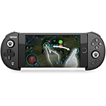Bluetooth Gamepad V4.0 Wireless Telescopic Portable Game Controller Joystick for Iphone X/7/6 IOS/Android System Support 3.5-6.3 inches Phones