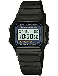 Casio Collection Herren-Armbanduhr Digital Quarz F-105W-1AWYEF