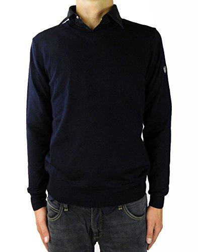Emporio Armani Herren Pullover Blau