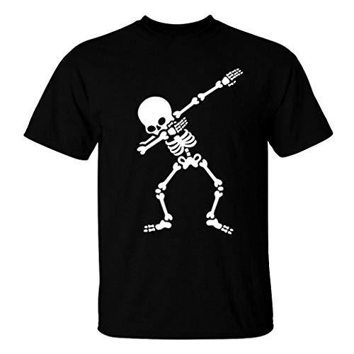 Imagen de camisetas hombre,riou camiseta de manga corta elástica de verano de originales estampada casual ocasional de los hombres tops blusa o cuello verano