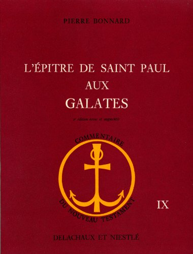L'Epitre de saint Paul aux Galates