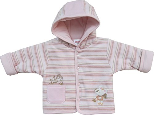 Schnizler Baby - Mädchen Jacke Kapuzenjacke Nicki Milly Mouse, wattiert, Gr. 56, Rosa (original 900)