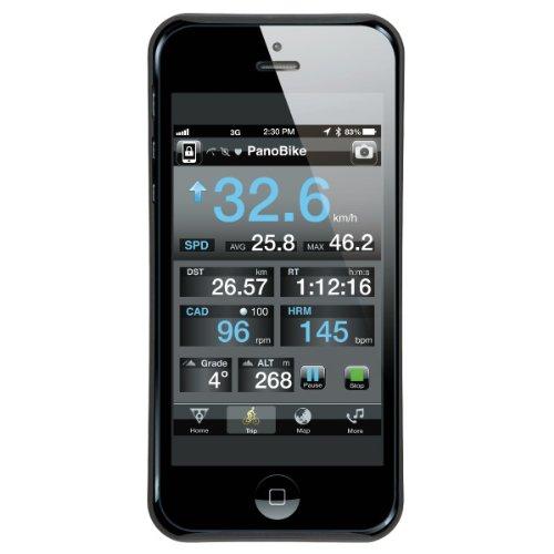 Supporto per bicicletta Ride Case II per iPhone 5 , Nero (schwarz), taglia unica Nero (schwarz)