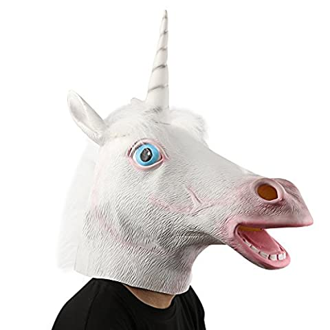 Womens Costume Party Animal - XIAO MO GU Masque de Tête d'animal