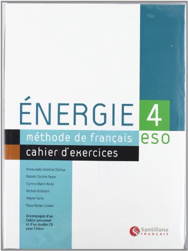 ENERGIE 4 CAHIER D'EXERCICES - 9788429434910
