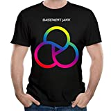 Photo de LIONMODE T-Shirt Mode à Manches Courtes Basement Jaxx - Homme par LIONMODE