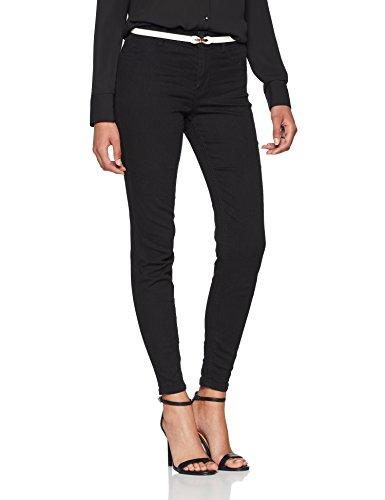 New Look Damen Skinny Jeans Lead, Schwarz (Black), 42 (Herstellergröße: 14)