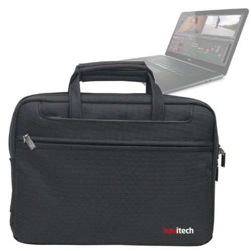 Navitech schwarzes Case / Cover / Tasche für Laptops / Notebooks und Tablet PC's für das Dell Precision M3800