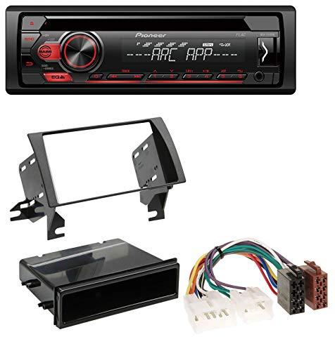 caraudio24 Pioneer DEH-S110UB MP3 USB CD 1DIN AUX Autoradio für Toyota Camry (2002-2006) (Aux Camry Toyota 2004)
