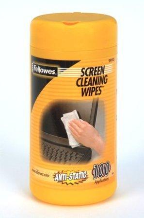 Fellowes Bildschirm - Reinigungsdose Bildschirm - Reinigungsdose 100 Tücher (Antistatik-tuch)