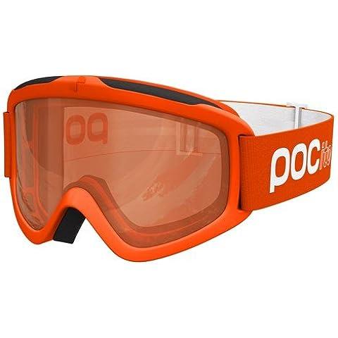 POC POCito Iris - Gafas de esquí unisex, color naranja, talla única