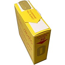 Listan Labels Numeri adesivi dorati (scatola da 50 adesivi)