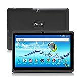 Tablet PC 7 Zoll Android 8.1 Quad Core Google Play Store 1024x600 Dual Kameras WiFi Bluetooth 1GB/8GB Google Play Store Netfilix Skype 3D Spiel GMS Zertifiziert Unterstützt - Schwarz