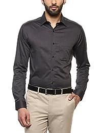 Stop by Shopper Stop Mens Slim Collar Slub Shirt
