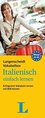 Langenscheidt Vokabelbox Italienisch einfach lernen - Box mit Karteikarten: Erfolgreich Vokabeln lernen mit 800 Karten (Langenscheidt Vokabelbox einfach lernen)