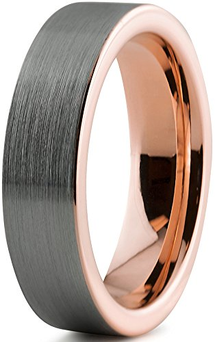 Pinsel Nickel-finish (Charming Bands  - FASHIONRING   Wolframcarbid)