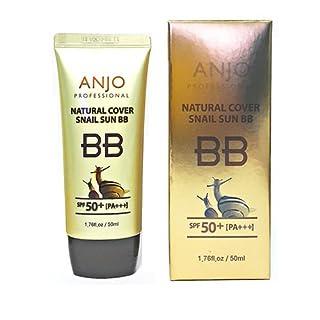 ANJO Professional Natural Cover Sun BB Cream SPF50+ Pa+++ 1.69Oz UV Wrinkle Care
