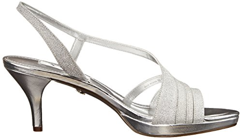 Nina Neely Synthétique Talons Silver Glitter