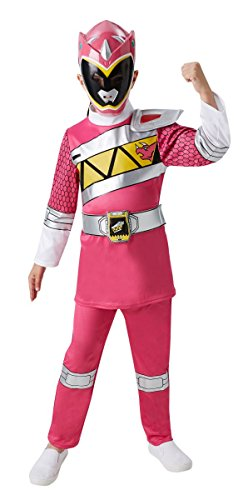 Kinder Kostüm Pink Power Ranger Dino Charge Karneval -