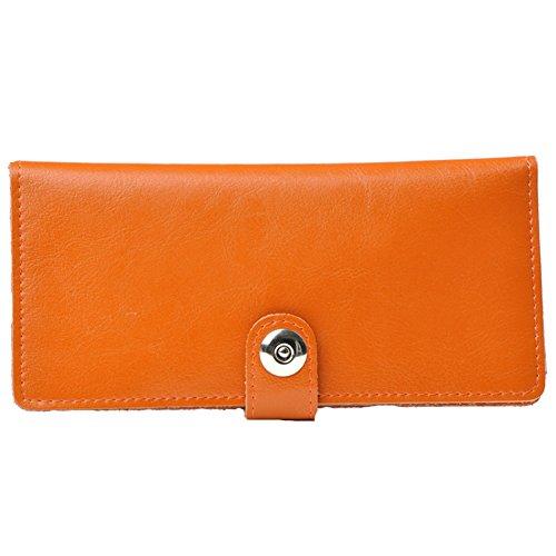 GSPStyle  003813-P, Portafogli  Uomo, rosso (Rosso) - 003819 arancione