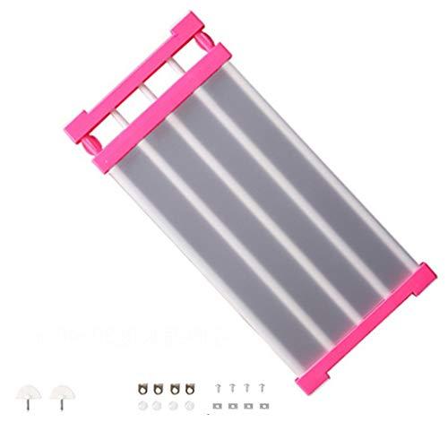 ehbarer Schrank Regal , Teleskop Kleiderschrank, Verstellbarer Lagerregal Separator Kleiderschrank Schrank Teiler DIY Organizer Rod für Küche Badezimmer Schlafzimmer ()