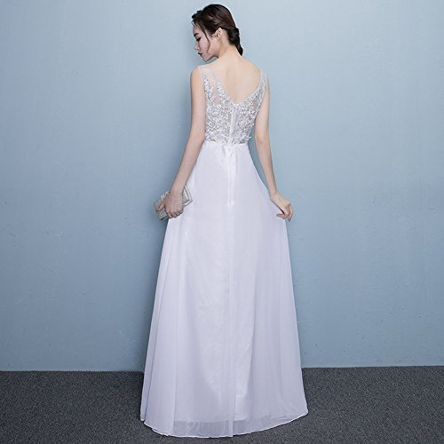 Drasawee - Robe - Taille empire - Femme Blanc