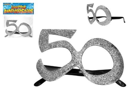 Occhiali di compleanno 50 anni