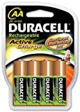 Duracell Akku Active Charge Mignon AA (HR6) 1,2V 2.000 mAh im 4er Pack